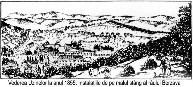 UDR 1855 malul stâng al râului Bârzava
