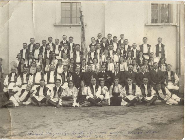 1933 Corul Resita Romana