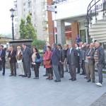 Palatul Cultural Resita - dezvelirea bustului dirijorului Ion Romanu