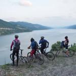 Dunărea la intrare în Cazane