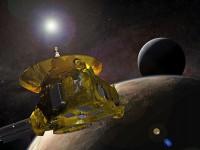 Rasarit de soare albastru pe Pluto
