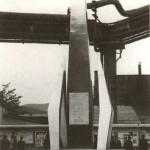 Obelisc închinat aniversării a 200 de ani de industrie la Reşiţa - 1971
