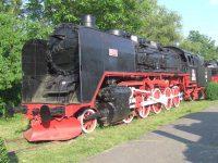 Locomotiva cu aburi nr. 150038 muzeu Resita
