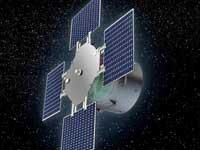 Satelit sera plante