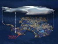 Sursa calcura sub Antarctica