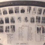 Panou memorial cu eroii din Forotic