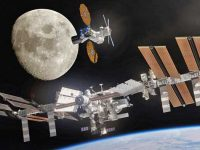 Statia orbitală lunară